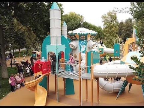 Космическая детская площадка и ялтинский маяк появились в Самаре