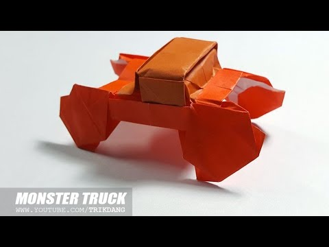 Cool Paper Truck How To Make A Modular Origami Truck