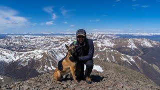 San Luis Peak via the Northeast Ridge   Colorado 14ers   Hiking and Camping