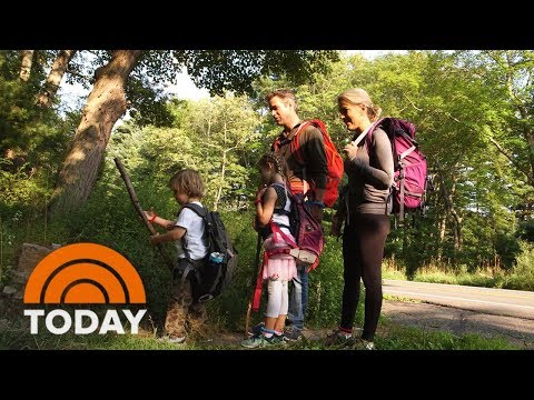 TODAY's Summer Of Yes: Megyn Kelly Takes Her Family Camping | TODAY