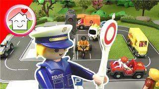 Playmobil Film - Lena macht den Führerschein in der Verkehrsschule -  Familie Hauser Kinderfilm