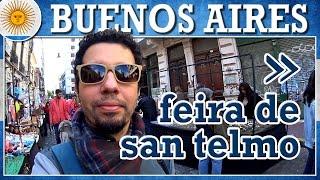 Compras na Feira de San Telmo, Buenos Aires (com preços)