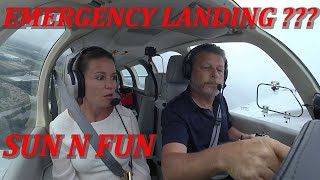 EMERGENCY LANDING AT SUN N FUN??? What would you have done? Declared an emergency???