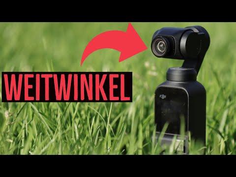 Test: DJI Osmo Pocket mit Weitwinkel von Freewell [Die Linse taugt was!]