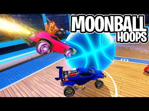 A MOONBALL NO BASQUETE DO JOGO DAS VIRADAS! GRAVIDADE BAIXA - Rocket League thumbnail