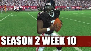 MADDEN 2007 FALCONS FRANCHISE VS RAMS (S2W10)