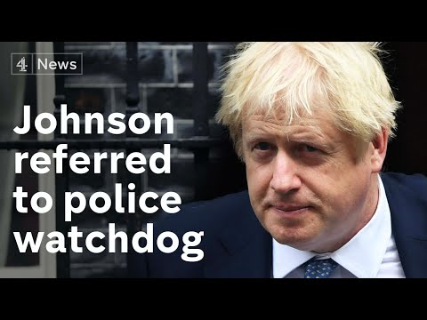 "Boris Johnson's referral to police watchdog ""politically motivated"""