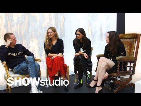 Louis Vuitton S/S14 Live Panel Discussion