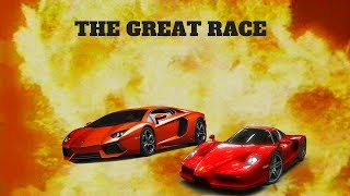 THE GREAT RACE...