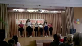 танец Алтын+Буги-вуги)))10 класс гимназия №6 2017 год
