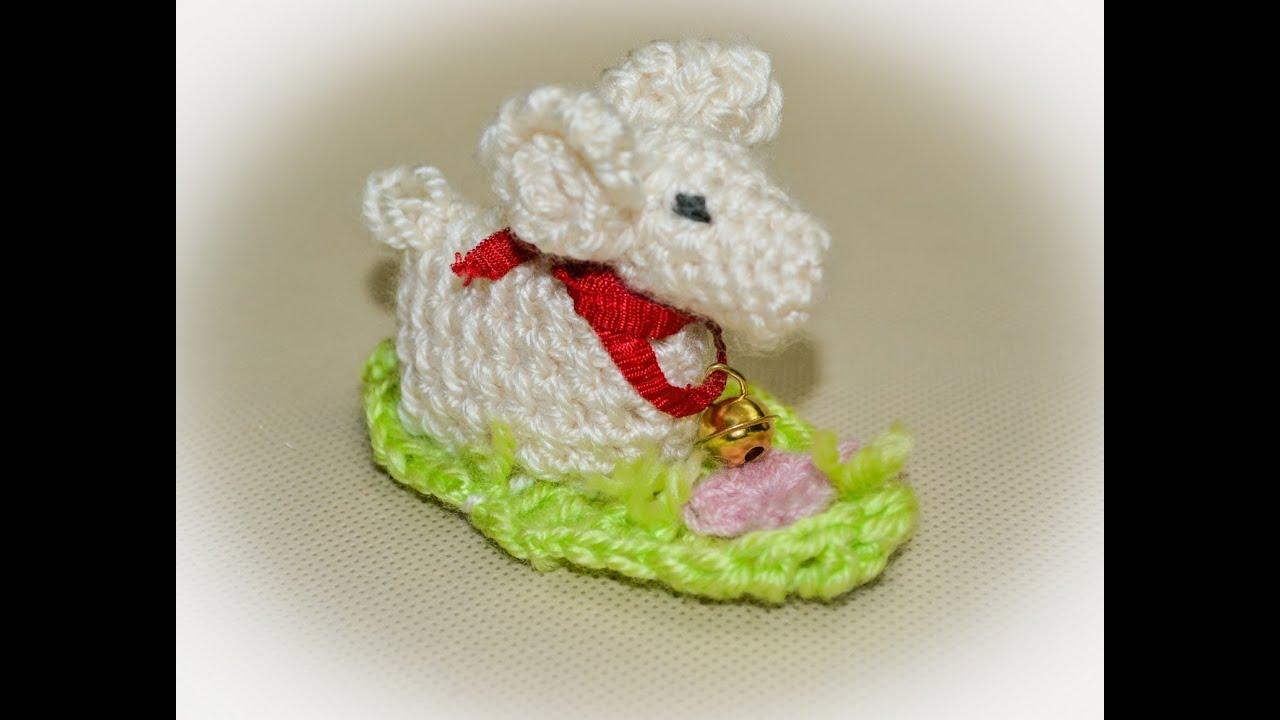 Baranek Wielkanocny Na Szydełku Lamb Easter Crochet Youtube