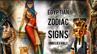 ANCIENTS EGYPTIAN ZODIAC   YOUR SIGN IS POWERFULL! CHECK IT OUT!!