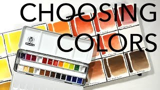 Choosing Colors For Your Watercolor Kit
