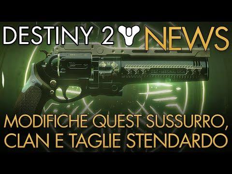 Destiny 2 | News: Modifiche Quest Sussurro, Clan e Taglie Stendardo thumbnail