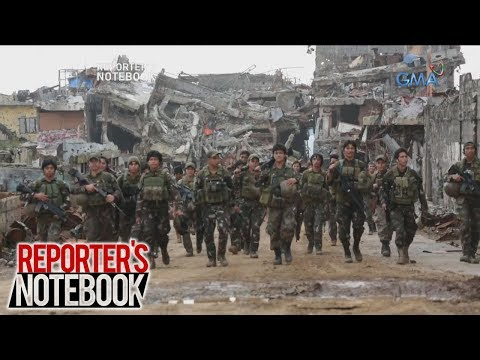 Reporter's Notebook: Pagtatapos ng krisis sa Marawi, binantayan ng 'Reporter's Notebook'