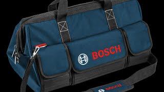 Большая сумка от Bosch: обзор, впечатления, вместимость.