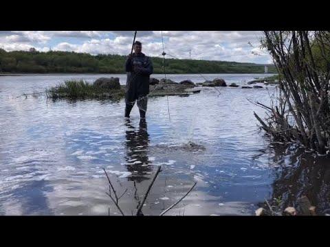 Рыбалка на Оке / Рыбалка на подъёмник в мае