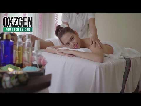 OXZGEN CBD R&R Aromatherapy Massage Oil