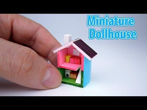 DIY Realistic Miniature Mini House | DollHouse | No Polymer Clay!