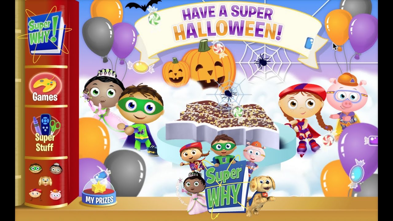 super why full halloween game super celebrations cake maker full baby adventure game movie hd youtube - Halloween Cake Games