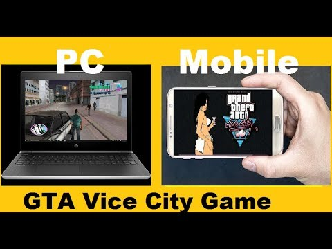 GTA Vice City Game Free Download  For PC And Install |Mobile GTA Y City Also Available
