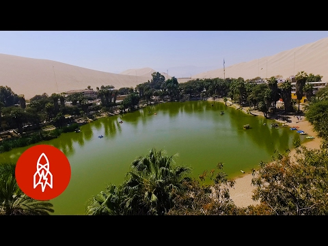 This Desert Lagoon Is No Mirage