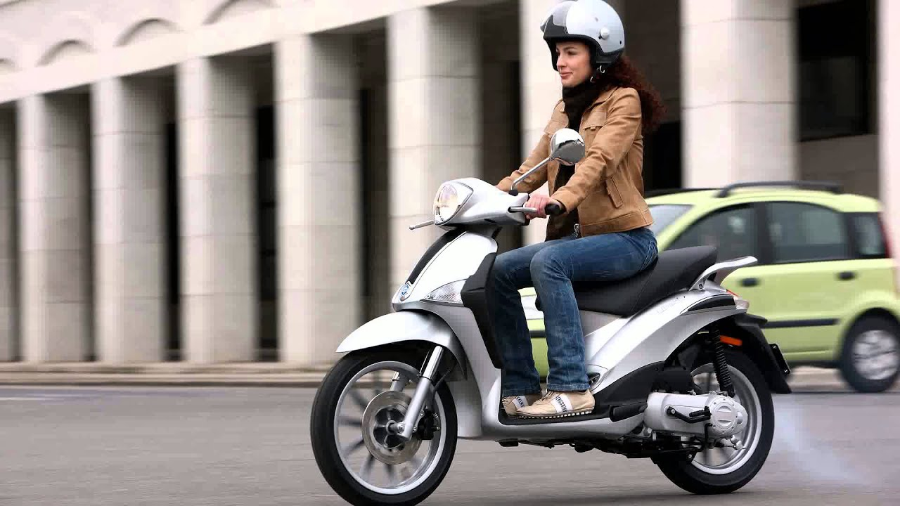 piaggio liberty - youtube
