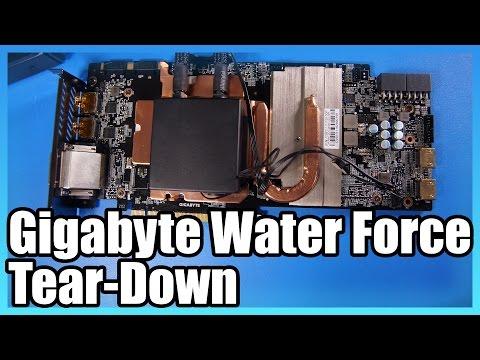 Gigabyte GTX 1080 Xtreme WaterForce Tear-Down