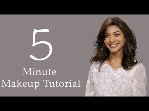 5 Minute Makeup & Hair Tutorial thumbnail