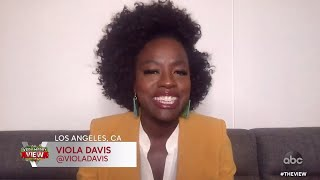 The actress discusses her new film and what she remembers most about late chadwick boseman.subscribe to our channel: http://bit.ly/2ybi4tm more f...