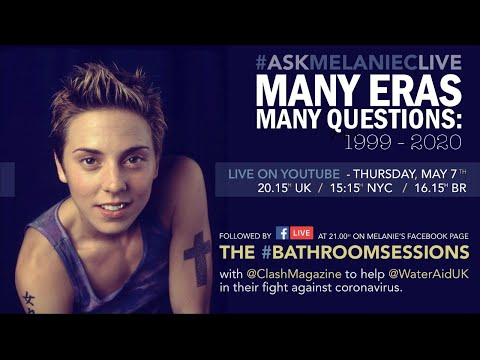 #ASKMELANIECLIVE - Many Eras, Many Questions #StayHome #WithMe