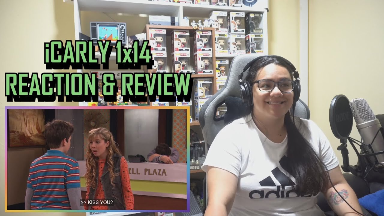 """Download iCarly 1x14 REACTION & REVIEW """"iHeart Art"""" S01E14 