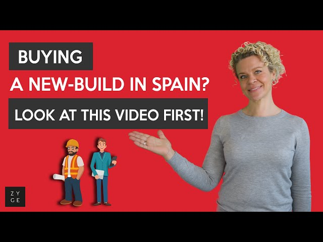 Buying a new build in #Spain? Look at this video first!