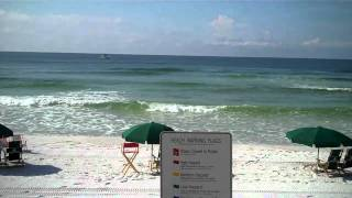 Okaloosa Island Beach Update - September 8,  2010