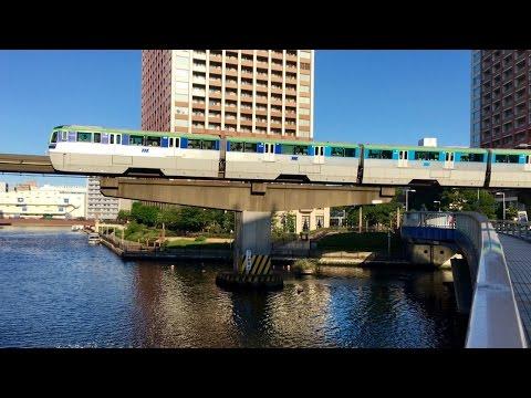 Tokyo Monorail timelapse [4K] 東京モノレール