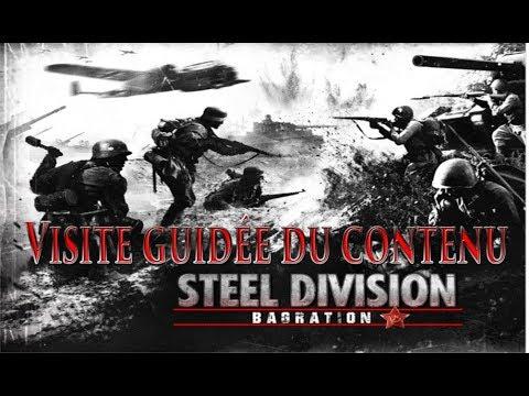Visite guidée du contenu Solo / Multi / Army Général / sur Steel Division 2 |