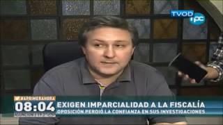 Exigen imparcialidad a la fiscalía - Rafael Filizzola