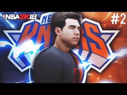 BORIMO SE ZA UGOVOR U KNICKS-MA! NBA 2K18 My Career #2