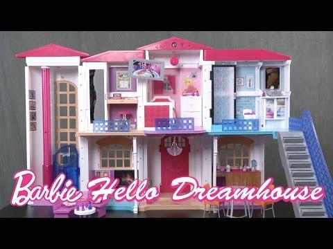 Barbie Hello Dreamhouse From Mattel Youtube