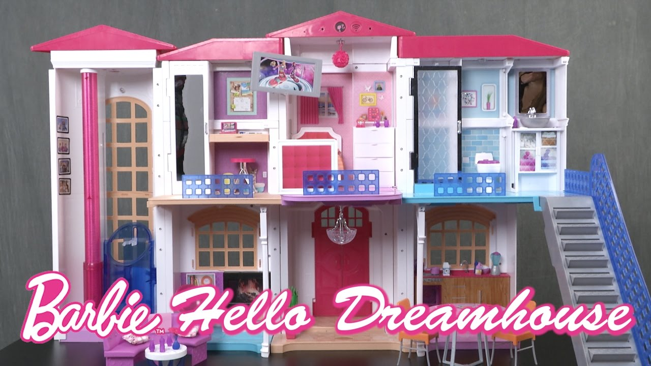 Barbie Hello Dreamhouse From Mattel Youtube