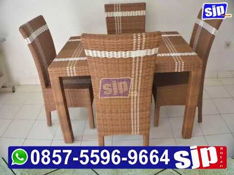 085755969664   Furniture Kursi Makan Rotan Sintetis   Furniture Kursi Makan Rotan Sintetis Bandung  