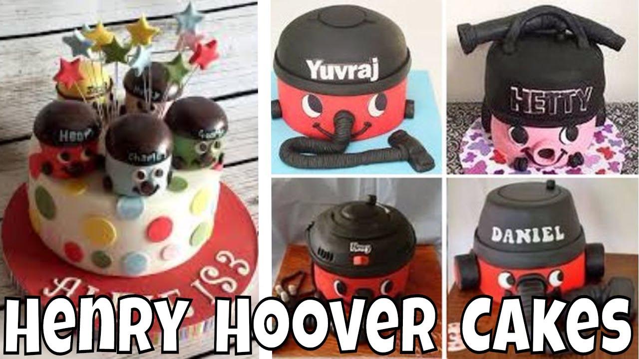 27 Adorable Henry Hoover Birthday Cake Design Ideas