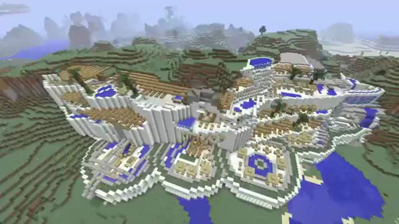 minecraft geography