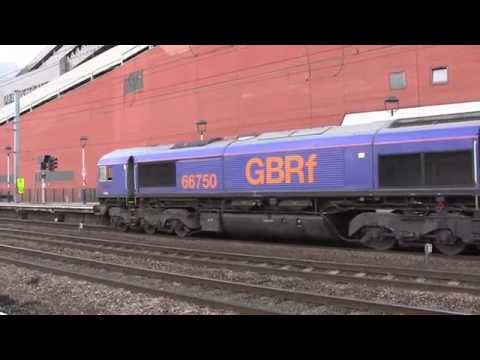 Doncaster Railway Station, South Yorkshire, England - August 2014 (plus bonus 2012 footage)