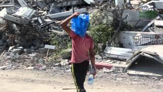 LA DISTRUZIONE DI GAZA: E