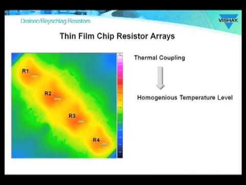 Resistors: ACAS Vishay Thin Film Chip Resistor Arrays