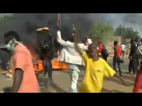 Anti-Charlie Hebdo Protests In Niger's Capital Turn Violent