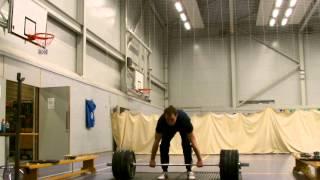 "Mike - ""Easy"" Clean and Jerk 130 Kg @ 83 Kg Bodyweight"
