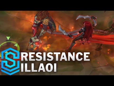 Resistance Illaoi Skin Spotlight - League of Legends