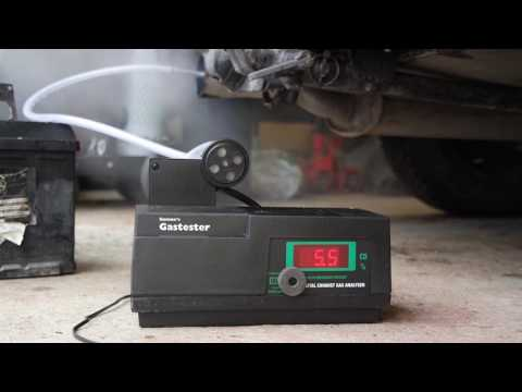 Gunson G4125 Exhaust Gas Analyzer + Audi 80